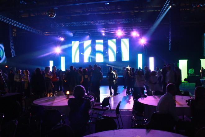 eclairage soiree dansante evenement
